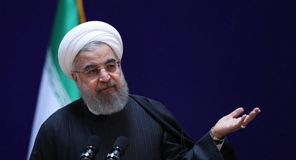 İran Cumhurbaşkanı Ruhani, ABD'nin Zarif yaptırımını yorumladı: Çocukça