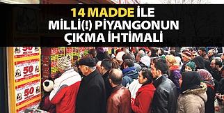 14 Madde ile Milli(!) Piyangonun Çıkma İhtimali
