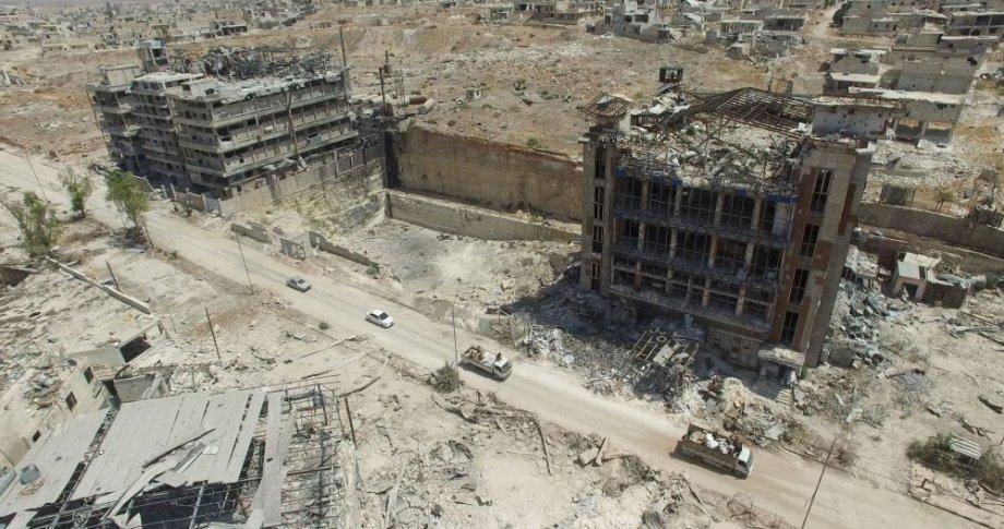 Halep'in kuşbakışı görüntüleri