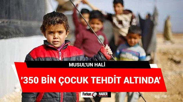 '350 Bin Çocuk Tehdit Altında'