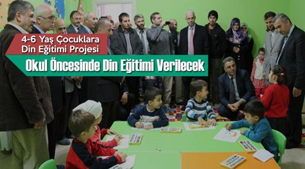 4-6 Yaş Çocuklara Din Eğitimi Projesi