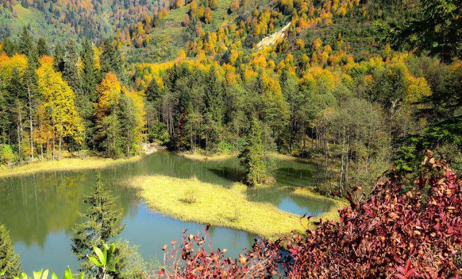 Karagöl'den Müthiş Sonbahar Manzaraları