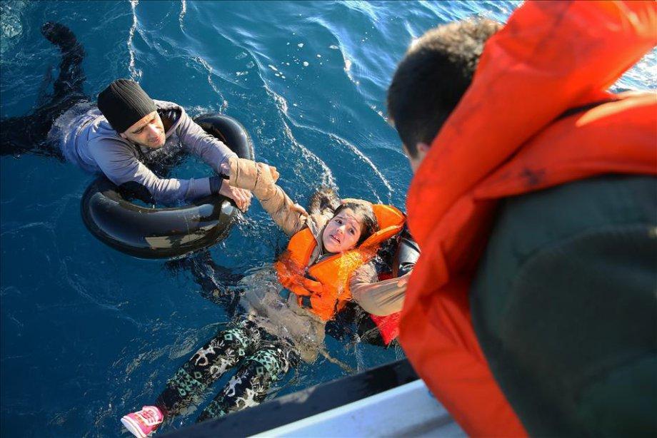 Mültecilerin Denizde Can Pazarı