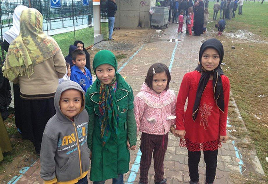 Afgan Mültecilerinin Dramı!