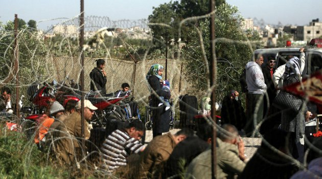 60 Bin Filistinli kapıda beliyor