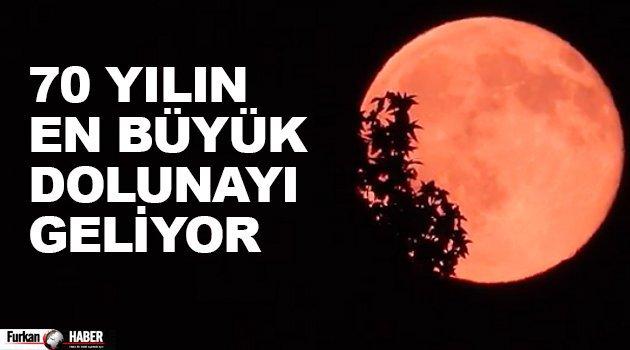 70 Yılın en büyük dolunayı geliyor | 14 Kasım'da Göğü Tefekkür Edin