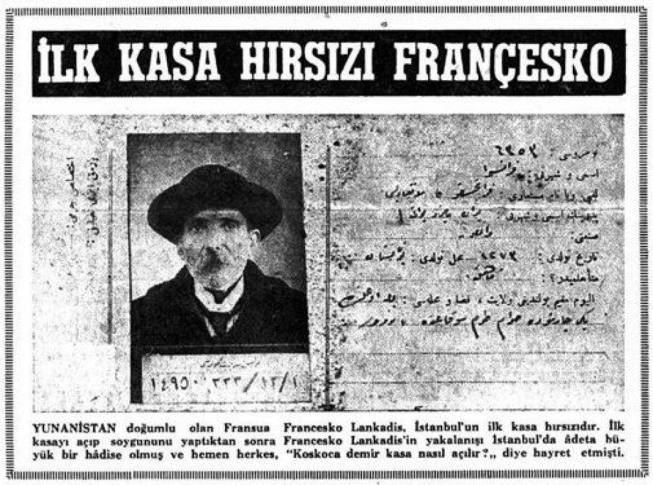 İşte İstanbul'un İlk Sabıkalıları