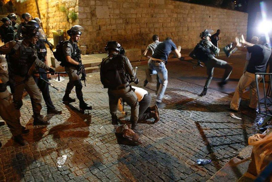 İşgalci Askerlerin Filistinlilere Müdahale Anları