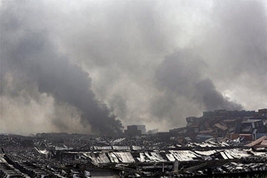 Çin'de 21 Ton TNT Gücünde Patlama: 44 ölü 520 yaralı