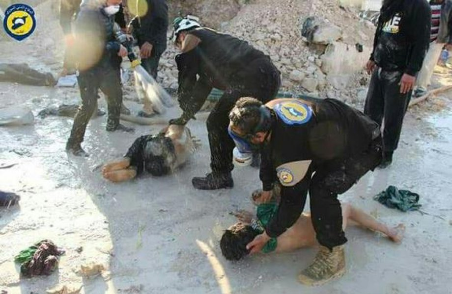 Esed'in Kimyasal Silah Katliamı! Korkunç Görüntüler