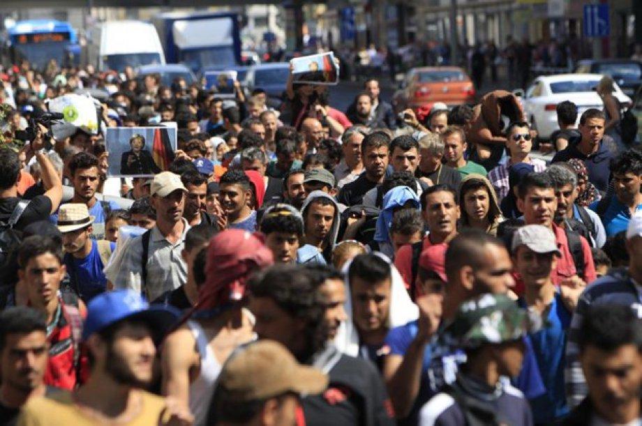Sığınmacıların Avrupa Yolculuğu (Foto Galeri)