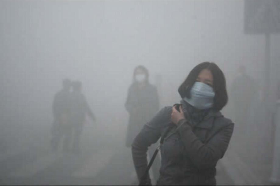 Çin çevre kirliliğinin geldiği boyut korkutucu