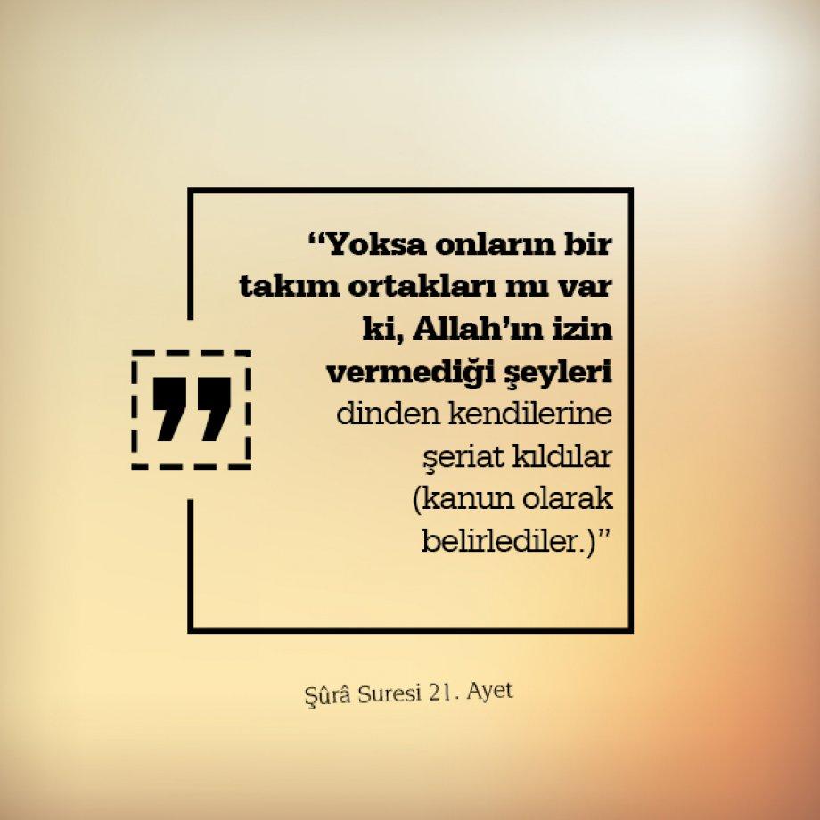 Tevhid Davasının Kur'an'dan 16 Delili