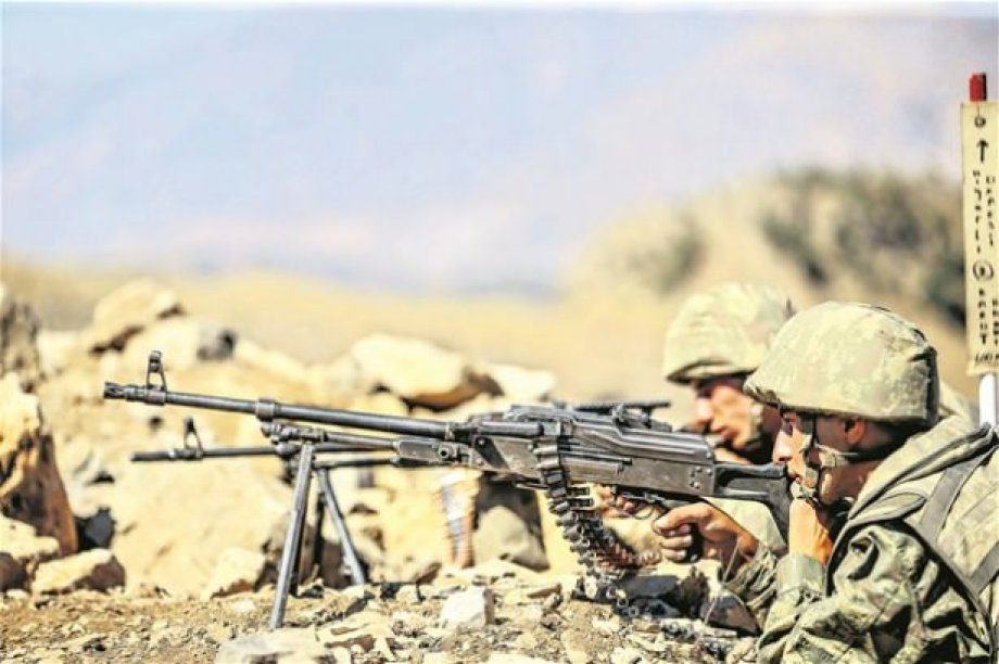 İşte PKK'nın Dağdaki Oyukları