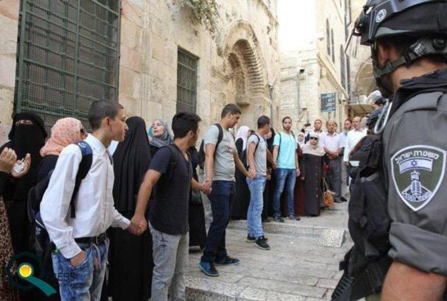 Yahudi Müslümanların Arasına Düşerse