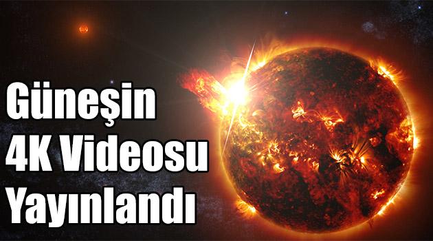 Güneşin 4K Videosu Yayınlandı