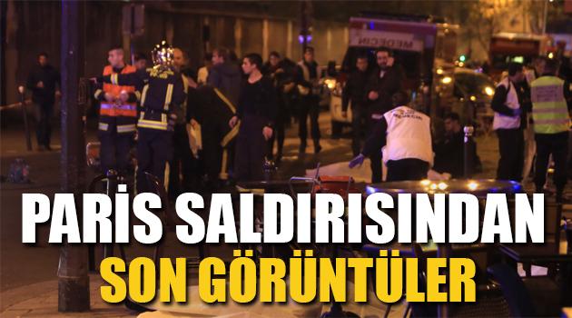 Paris'teki saldırıdan son görüntüler +18