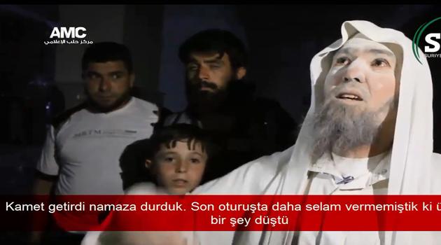 Esed'in Bombaladığı Cami'den Sağ Çıkan Adamın Haykırışı