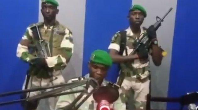 Afrika ülkesi Gabon'da darbe girişimi