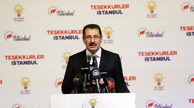 AK Partili Ali İhsan Yavuz: İstanbul'da seçimin yenilenmesini isteyeceğiz'