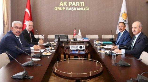 AKP ve MHP ittifakı görüştü