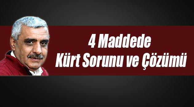 Ali Bulaç'tan 4 Maddede Kürt Sorunu ve Çözümü