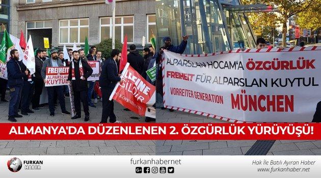 Almanya'da Düzenlenen 2. Özgürlük Yürüyüşü!