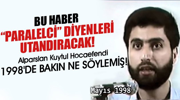 Alparslan Kuytul Hocaefendi'den şok eden video!