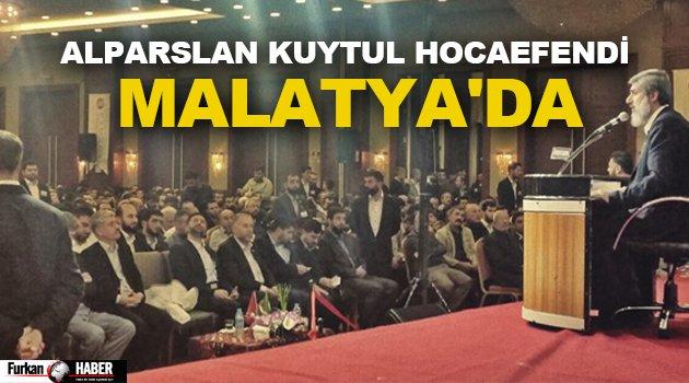 Alparslan Kuytul Hocaefendi Malatya'da