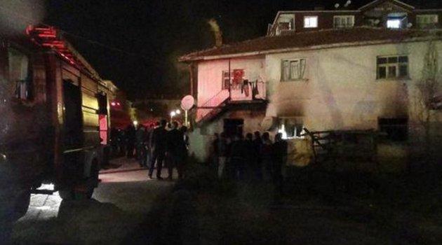 Ankara'da Suriyeli ailenin evi kundaklandı