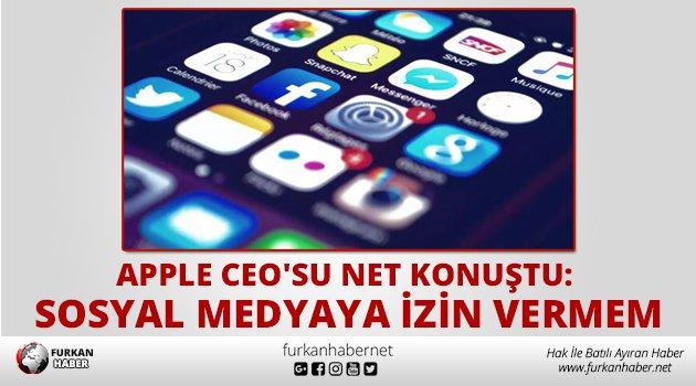 Apple CEO'su net konuştu: Yeğenimin sosyal medya kullanmasını istemem