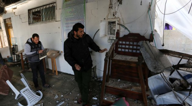 Ateşkese rağmen İsrail Gazze'yi bombalıyor