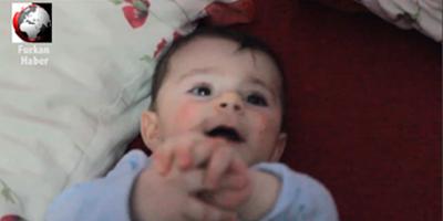 Kur'an'ı Kerim okununca susan bebek!
