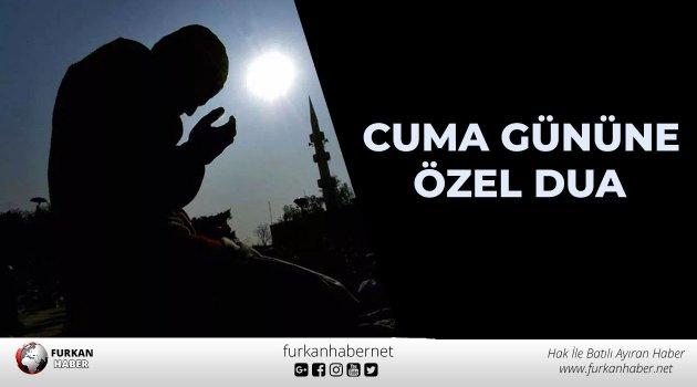 Cuma Gününe Özel Dua