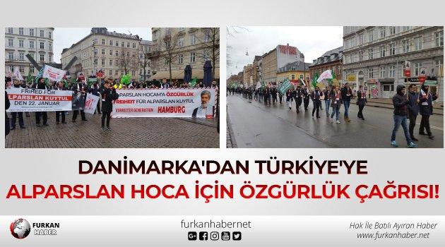 Danimarka'dan Türkiye'ye Alparslan Hoca İçin Özgürlük Çağrısı!