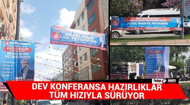 Adana'da Miraç Kandili Vesilesiyle Kutlu Doğum Programının Hazırlıkları Tüm Hızıyla Sürüyor