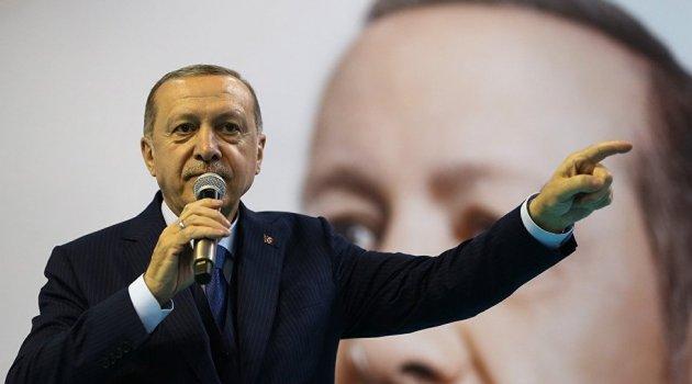 Erdoğan: Sandıktan korkan siyasetçilerin olduğu tek yer bizim memleketimizdir