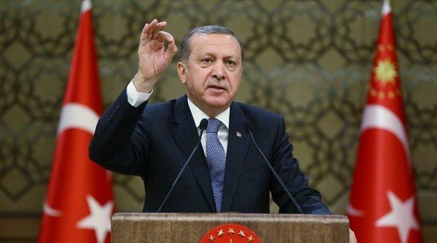 Erdoğan: Temizlik ürünlerine de gireceğiz