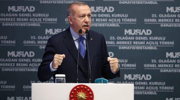 Erdoğan: Vatandaşım 'bu seçim yenilenmeli' diyor