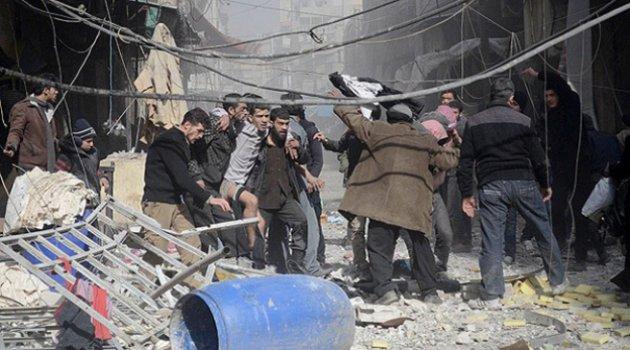 Esed rejimi yine ölüm yağdırdı.