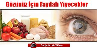 Gözünüz İçin Faydalı Yiyecekler