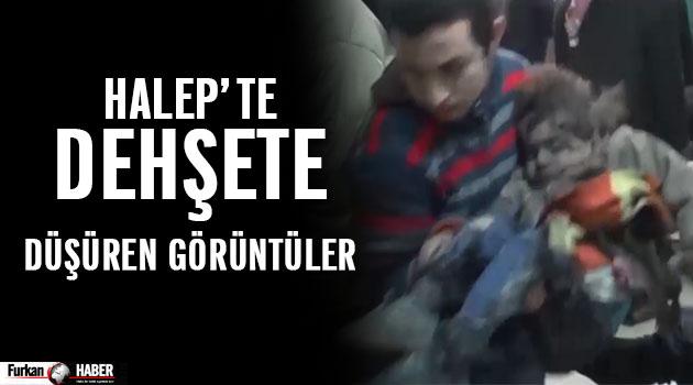 Suriye'de Dehşete Düşüren Görüntüler