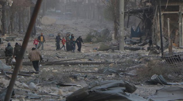 Halep'te bombalı saldırı: Ölü ve yaralılar var