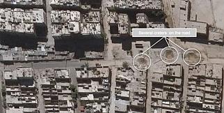 Halep'te iki haftada gerçekleşen yıkımın fotoğrafları