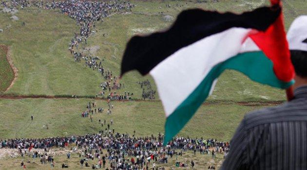 Hamas:Milyonluk yürüyüş Filistinlilerin haklarına bağlılığını vurguluyor
