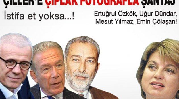 Çıplakçı Dündar'dan Çiller'e Çıplak Şantajı