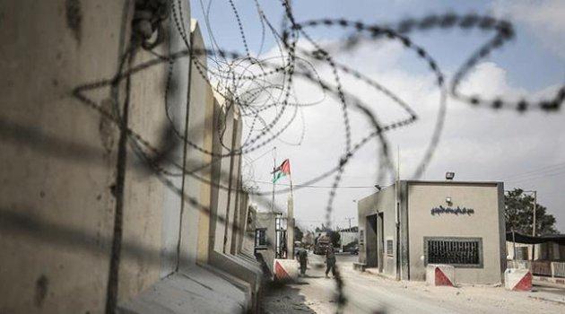 İşgalci İsrail Gazze'ye açılan sınır kapılarını kapattı