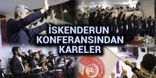İskenderun Konferansından Kareler