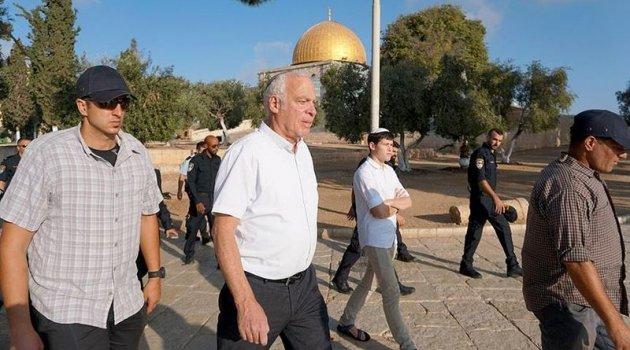 İsrailli Bakandan Mescid-i Aksa'ya baskın
