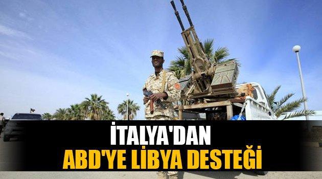 İtalya'dan ABD'ye Libya desteği